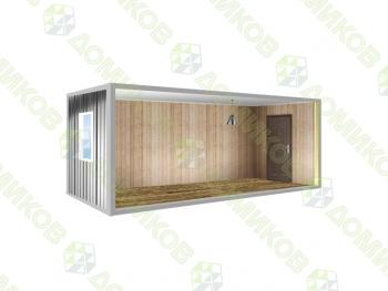 Блок-контейнер для дачи утепленный БК-01