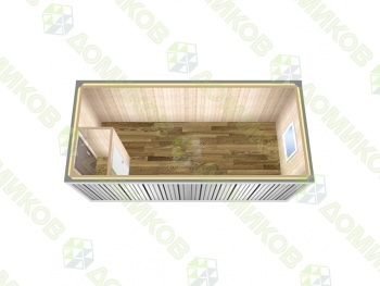 Блок-контейнер металлический БК-03  - схема
