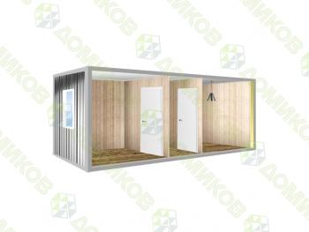 Блок-контейнер БК-04 - две комнаты
