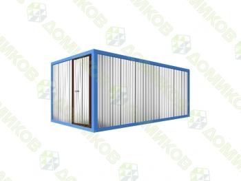 Хозблок металлический для дачи ХБ-02