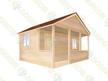 Садовый домик 6х11 СД-9