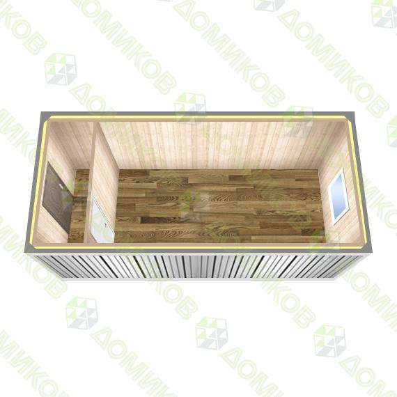Блок-контейнер утепленный БК-02 схема