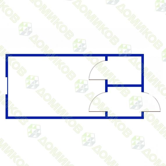Блок-контейнер БК-06 - схема
