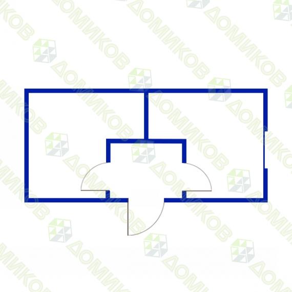 Блок-контейнер БК-07 - чертеж