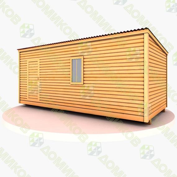 Строительный вагончик СВ-01 деревянный