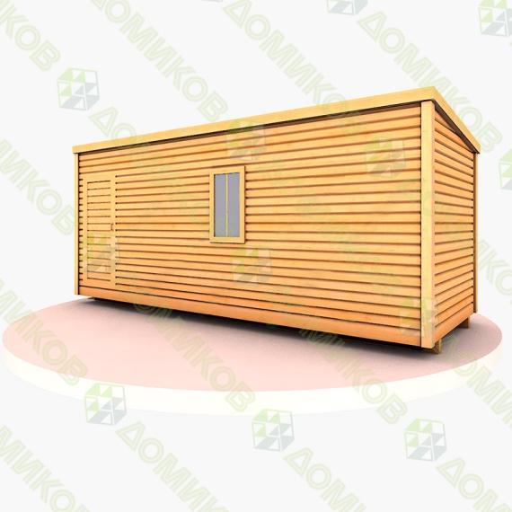 Строительный вагончик для дачи деревянный СВ-03